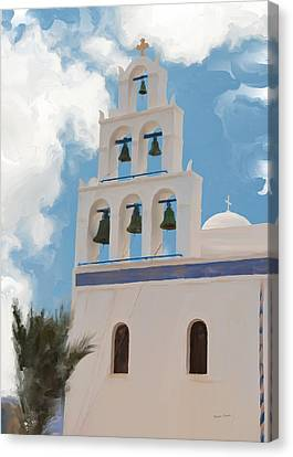 Panagia Canvas Print - Mission Bells by Phyllis Taylor