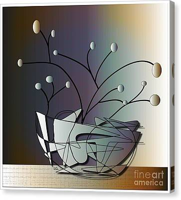 Mode Canvas Print by Iris Gelbart