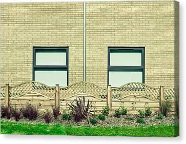 Modern Building Canvas Print by Tom Gowanlock