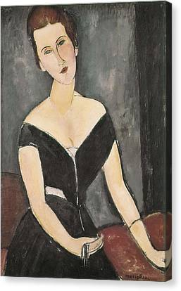 Modigliani, Amedeo 1884-1920. Portrait Canvas Print