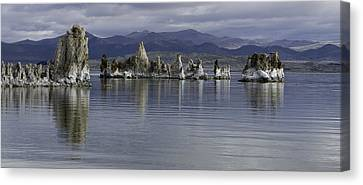Canvas Print featuring the photograph Mono Lake by Betty Depee