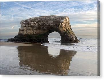 Monolith Natural Bridges State Beach Canvas Print