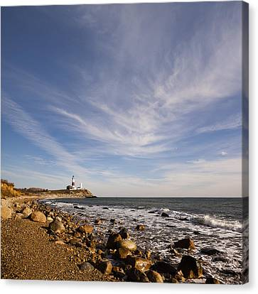 Montauk Point Lighthouse Canvas Print