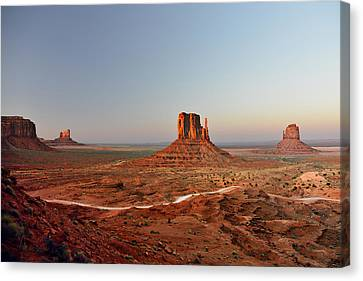 Monument Valley Canvas Print by Christine Till