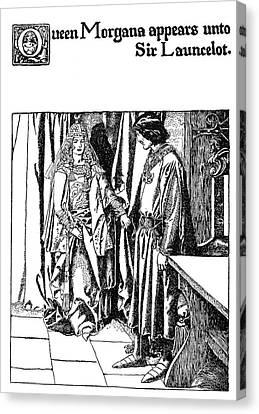 Morgan Le Fay Canvas Print by Granger