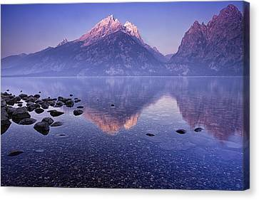 Morning Reflection Canvas Print by Andrew Soundarajan