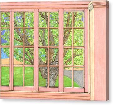 Mother Weller's Tree Canvas Print