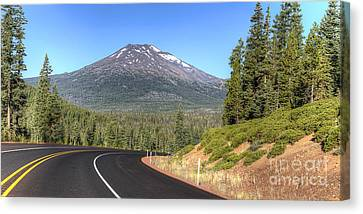 Mount Bachelor Canvas Print by Twenty Two North Photography