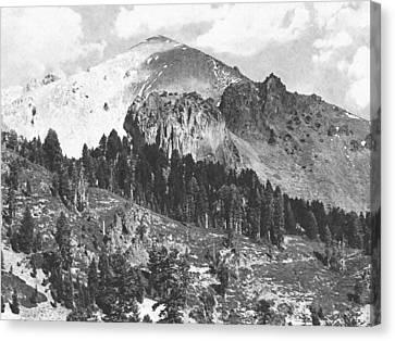Mount Lassen Volcano Canvas Print by Frank Wilson