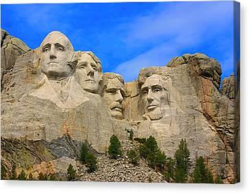 Mount Rushmore South Dakota Canvas Print