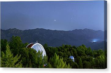 Mount Wilson Observatory Canvas Print by Babak Tafreshi