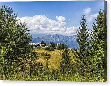 Mountain Panorama. Italy Canvas Print