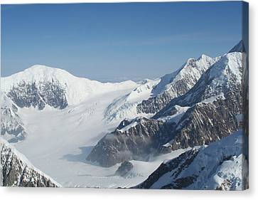 Mt Mckinley Canvas Print by Dick Willis