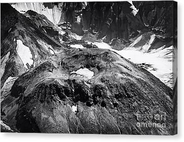 Mt St. Helen's Crater Canvas Print by David Millenheft