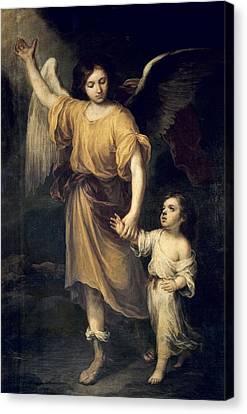 Murillo, Bartolom� Esteban 1617-1682 Canvas Print