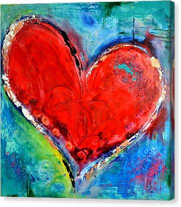 Music Of The Heart Canvas Print