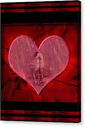 My Hearts Desire Canvas Print by Kurt Van Wagner