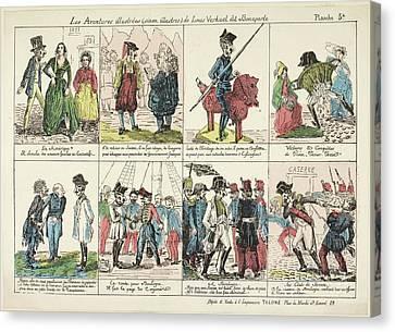 Napoleon Bonaparte Canvas Print by British Library