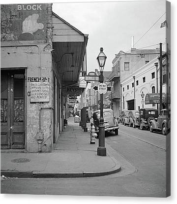 New Orleans, 1941 Canvas Print by Granger