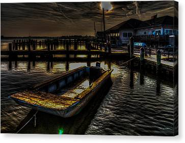 Dreamboat Canvas Print by Eric Geschwindner