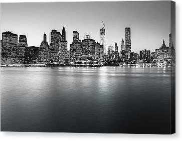 New York City Skyline Canvas Print by Vivienne Gucwa