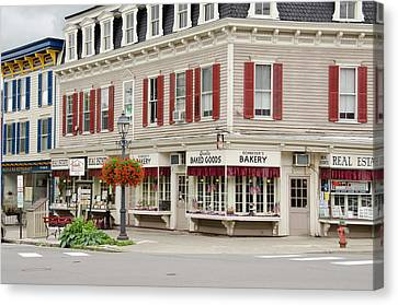 Bakery Canvas Print - New York, Cooperstown by Cindy Miller Hopkins