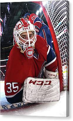 New York Rangers V Montreal Canadiens - Canvas Print by Bruce Bennett
