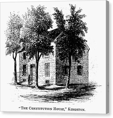 Carousel House Canvas Print - New York Senate, 1777 by Granger