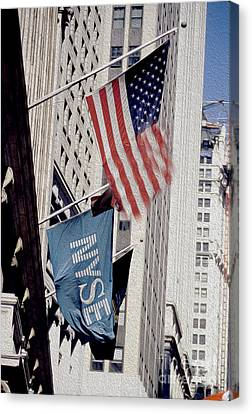 New York Stock Exchange Canvas Print by Jon Neidert