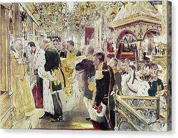 Nicholas II (1868-1918) Canvas Print by Granger