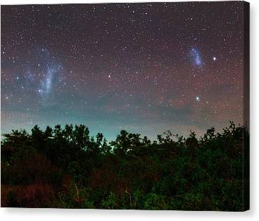 Night Sky Over Kenya Canvas Print by Babak Tafreshi