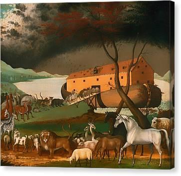 Noah's Ark Canvas Print by Mountain Dreams