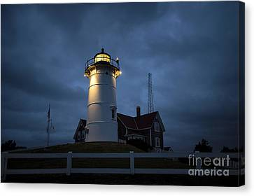 Nobska Lighthouse Canvas Print by John Greim