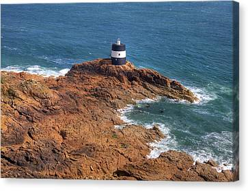 Noirmont Point Tower - Jersey Canvas Print
