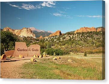 North America, Usa, Colorado, Springs Canvas Print by Patrick J. Wall