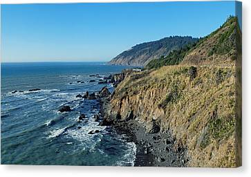Pch Canvas Print - Northern California Coast by Twenty Two North Photography