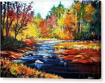 October Bliss Canvas Print by Al Brown