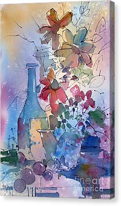 Oklahoma Wildflowers Canvas Print by Micheal Jones