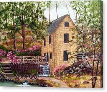 Old Mill North Little Rock Arkansas Canvas Print