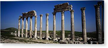 Old Ruins On A Landscape, Cardo Canvas Print by Panoramic Images