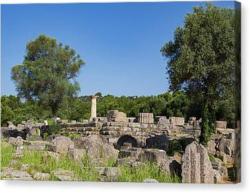 Zeus Canvas Print - Olympia, Peloponnese, Greece. Ancient by Panoramic Images