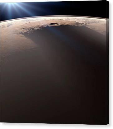 Olympus Mons Canvas Print