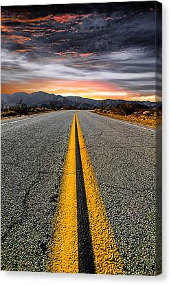 Street Canvas Print - On Our Way  by Ryan Weddle