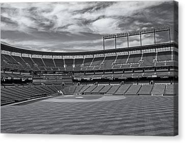 Oriole Park At Camden Yards Stadium Canvas Print