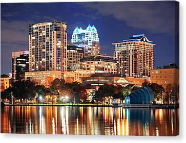 Orlando Downtown Architecture Canvas Print