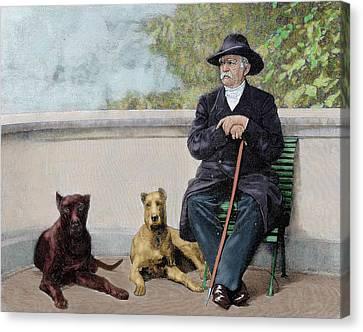 Otto-leopold Bismarck, Prince Canvas Print by Prisma Archivo