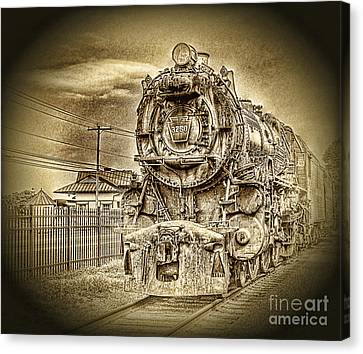 Out Of The Past Canvas Print by Arnie Goldstein