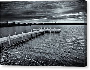 Canvas Print featuring the photograph Overcast by Greg Jackson
