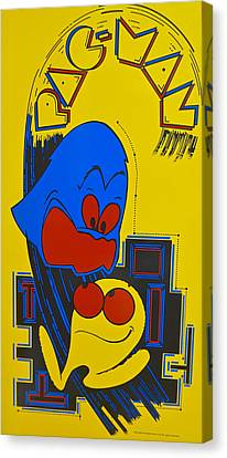 Pac Man Canvas Print by Frozen in Time Fine Art Photography