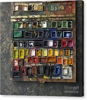 Paint Box Canvas Print by Bernard Jaubert
